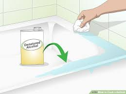 image titled caulk a bathtub step 4
