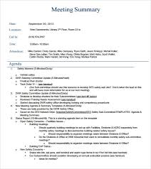 Meeting Recap Template Sample Meeting Summary Template 7 Documents In Pdf