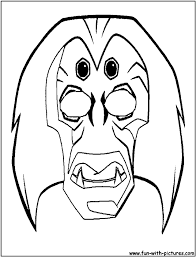 Small Picture African Mask Coloring Pages Coloring Home