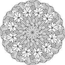 Mandala Coloring Pages Printable Free Printable Mandala Coloring