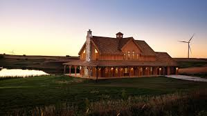 post and beam example barn homes
