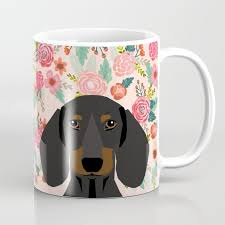 dachshund fls cute pet gifts black and tan dachshund gifts for dog lover with weener dog coffee mug