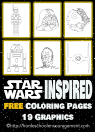 Free Star Wars Inspired Coloring Pages