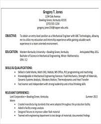 Technical Skills In Resume For Mechanical Engineer 47 Engineering Resume Samples Pdf Doc Free Premium Templates