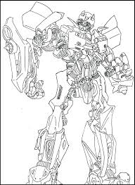 Bumblebee Transformer Coloring Page Dr Schulz