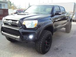 Toyota Tacoma Lifted Black. Fabulous Toyota Inch Cree Led Bumper ...