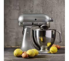 kitchenaid 125 artisan 4 8l stand mixer contour silver kitchen ideas