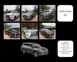 The Art Of Color 2018 Lexus Lx Color Chart Lexus Model