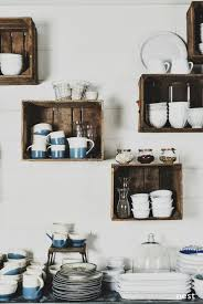 Remodeling 101: The Eat-in Kitchen. Crate ShelvingRustic ...