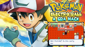 Pokemon Electro Ball (Pokemon FireRed Hack) - GBA ROM - GB Advance Game