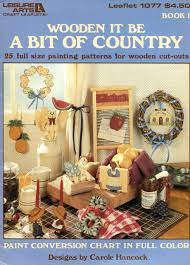 Craft Paint Conversion Chart Wooden It Be A Bit Of Country Book 1 Carole Hancock