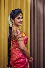 south indian bridal makeup for her eyes south indian bride hairstyle indian bridal hairstyles