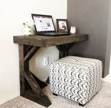 Diy small desk to inspire you how to make diy desk look fair 6