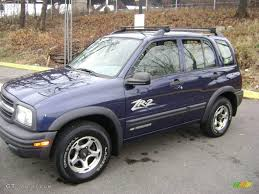 2001 Dark Blue Metallic Chevrolet Tracker ZR2 Hardtop 4WD ...