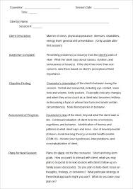 Soap Note Template 9 Free Word Pdf Format Download Ot