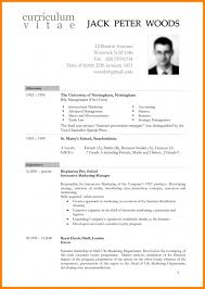 Example Of A Cv In South Africa 6 Template Hostess Resume Well