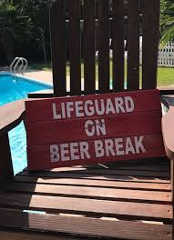 Swimming Pool Decor Signs Pool Signs Pool Decor Pool Lifeguard Pool Decorations 30