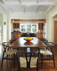 farmhouse metal chairs dining room farmhouse with painted wood ceiling natural wood modern farmhouse