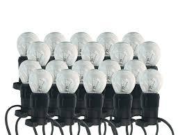 lighting sets. 20m Festoon Set 20 CLEAR Fancy Round Lamps FREE POST Lighting Sets D