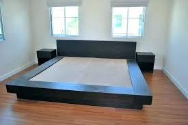 modern platform bed wood. Modern Platform Bed Frames Wood Frame Full Size .