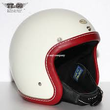 super magnum leather rim shot vintage red leather 3 4 open face motorcycle