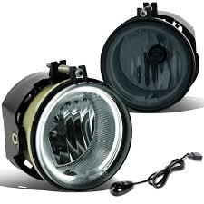 2010 Dodge Avenger Fog Light Bulb For 2005 To 2010 Dodge Avenger Charger Challenger Chrysler Sebring Halo Ring Fog Lights Switch Ccfl Power Inverter Smoked Lens 06 07 08 09