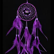Beautiful Dream Catcher Images Amazing Beautiful Dreamcatcher In Dark Blue Or Purple My Feng Shui Store