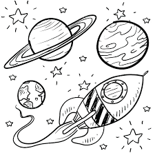 Free Solar System Coloring Pages At Getdrawingscom Free For