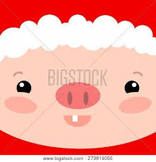 Cute Pig Face Square Vector Photo Free Trial Bigstock