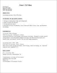 Resume Template Accountant Accountant Resume Sample Resume Template
