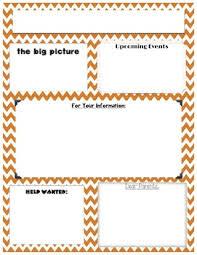 Newsletter Templates Word Version