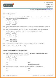 6+ 10th grade math worksheets | media resumed