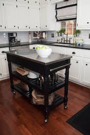 stainless steel kitchen island table and types of small kitchen islands carts on wheels