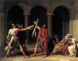 jacques louis david artist revolutionary and revolutionary artist david oath of the horatii 1784