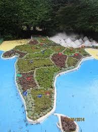 botanical gardens india map