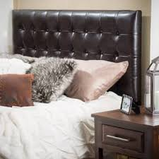 leather headboard king.  Headboard Austin Adjustable KingCalifornia King Tufted Bonded Leather Headboard By  Christopher Knight Home And B