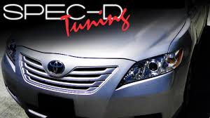 SPECDTUNING INSTALLATION VIDEO: 2007-2008 CAMRY HEADLIGHT - YouTube