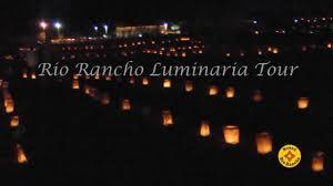 Rio Rancho Light Parade Luminaria Tour At Haynes Park In Rio Rancho