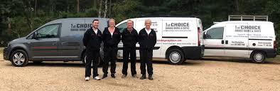 1st choice garage doors team