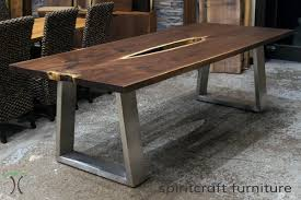 live edge dining table metal live edge slab dining tables walnut slabs and tops