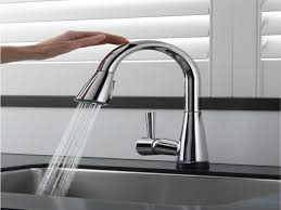 Delta Touch2o Kitchen Faucet Kitchen Faucets Touch Kitchen Faucet With Delta 980t Sssd Dst