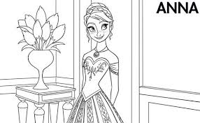 Small Picture Related Keywords Suggestions for Frozen Coloring Page Anna