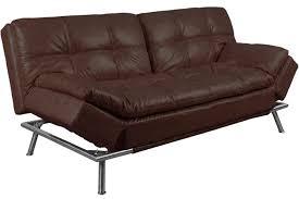 fulton sofa bed. Fine Fulton Matrix Pillowtop Bonded Leather Sofa Bed Brown Intended Fulton O