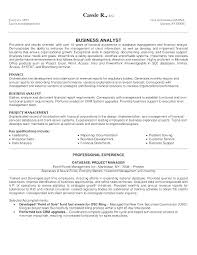 Business Analyst Resume Template Free Word Excel Free Business ...