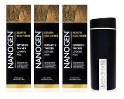 Nanogen Fibres Colour Chart Hair Fantastic Nanogen Hair Thickening Treatments