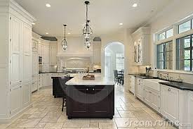 luxury kitchen lighting. Luxury Kitchen Lighting On With White Cabinetry Click Image To Zoom O