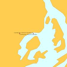 Granby Bay British Columbia 2 Tide Chart