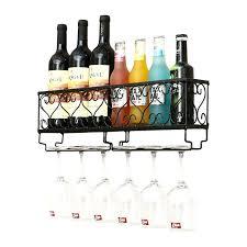 hanging wine rack unique metal wine goblet holder storage holder wine rack hanging wine bar glass cup holder wall cabinet wine rack plans