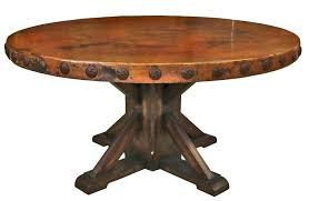 round wood and metal dining table rustic chairs oslo effect 4 for wooden dining table with
