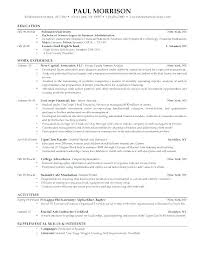 Resume Format Font Size Resume Format Font Size A Resume Format Font